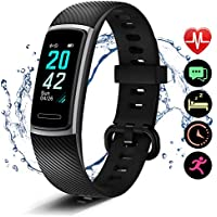 Letsfit Fitness Trackers, Activity Tracker with Heart Rate Monitor, Pedometer Watch with Sleep Monitor, Step Calorie Counter, Smart Bracelet for Women and Men