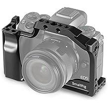 SMALLRIG Cage pour Canon EOS M50 et M5 avec Poignée Intégrée et Déblocage Rapide NATO Rail 2168