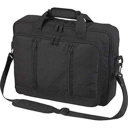 Halfar - Sac sacoche bandoulière transformable sac à dos - 1802765 - noir - pour ordinateur portable jusqu'à 15-16 pouces