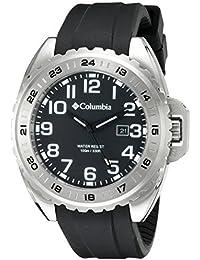 Columbia hombre CA003–005lúmenes analógico pantalla Cuarzo Negro Reloj por Columbia