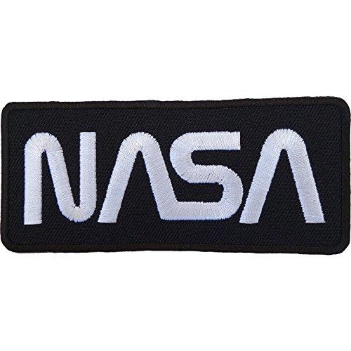 NASA Patch Astronaut Kostüm bestickt Nähen/Bügeln auf Badge Logo (Alien Und Astronaut Kostüm)