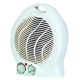 TradeShopTraesio - Caldobagno 2000W Stufa stufetta elettrica termoconvettore termoventilatore