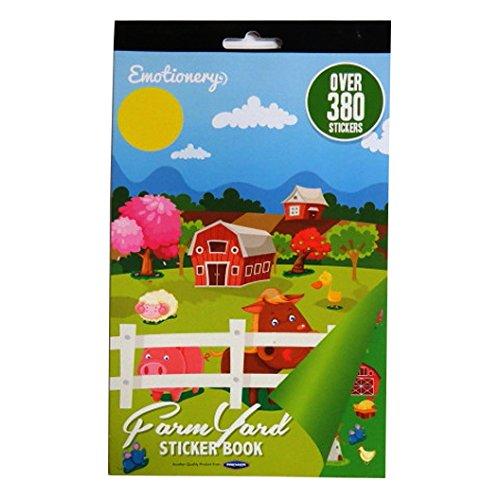 Bauernhof Aufkleberbuch - Über 380 Aufkleber
