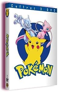 Coffret Pokémon 3 DVD : Pokémon : Le Film / Pokémon 2 : Le Pouvoir est en toi / Pokémon 3 : Le Sort des Zarbi