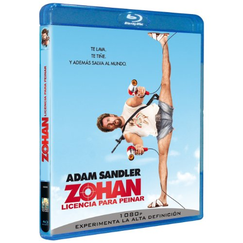 Zohan: Licencia para peinar (You Don't Mess With Zohan) [Blu-ray] 516eNx4wAuL