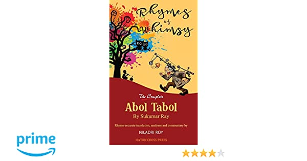 Rhymes of Whimsy - The Complete Abol Tabol: Translated into