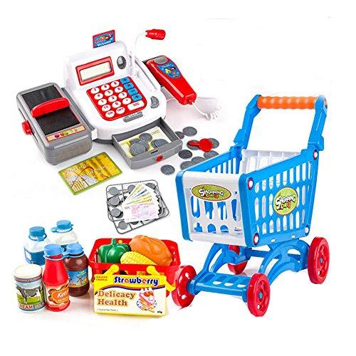Niños Niños Pretend Play Cash Register Juegos de azar surtidos, juguetes...