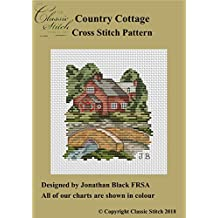 Country Cottage Cross Stitch Pattern