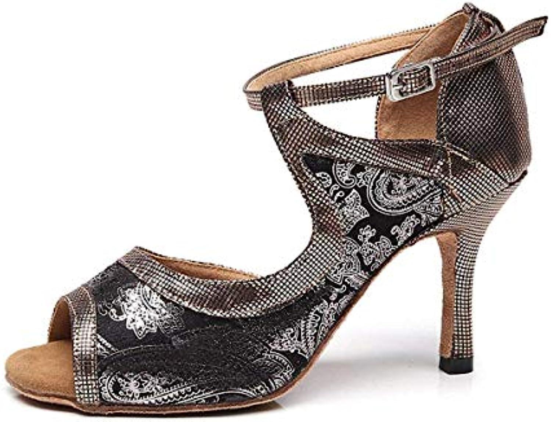 Willsego TJ7130 Ladies Girls Snake-Print Cinturino Cinturino Cinturino alla Caviglia Grigio Sintetico Scarpe da Ballo UK 3.5 (Coloreee... | Il materiale di altissima qualità  899b0b