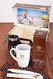Coffeepolitan Geschenk-Set - Kaffee-Weltreise mit Zubereitungsset; das besondere Geschenk für jeden Anlass