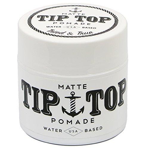 TIP TOP Tip Top Matte Medium auf Wasserbasis Halten Pomade 4,25 Unzen Weiß -