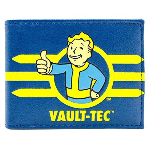Bethesda Fallout 4 Registriert Vault Tec Blau Portemonnaie (Commonwealth Kostüme Spiele)