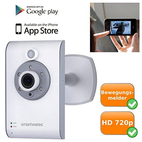 hochwertige WiFi IP-Video-Überwachungs-Kamera für den Innenbereich, Nachtsichtfunktion, Plug und Play für Smartphone