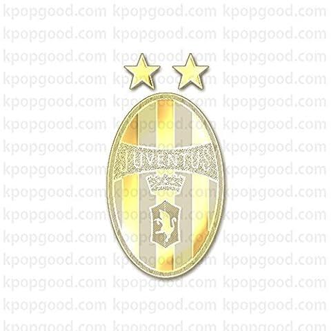 24k Gold Plated Juventus Serie A Emblem Cell Phone Sticker