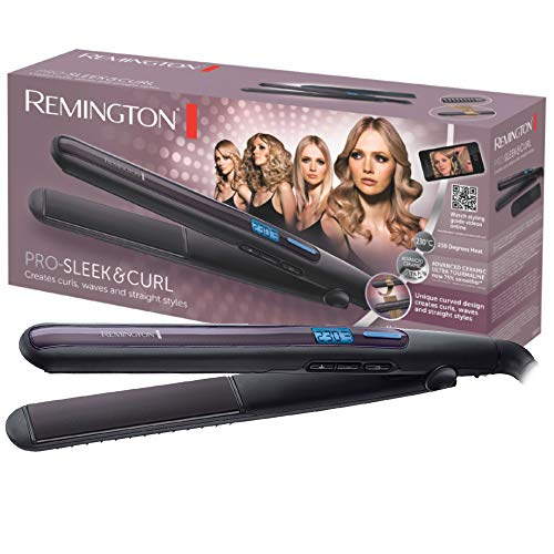 Remington S6505 Pro Sleek&Curl Piastra,...
