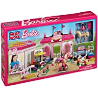 Mega Bloks Barbie Build N Play Horse Stable