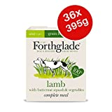 FORTHGLADE Complete Meal Getreidefreies Nassfutter für Erwachsene, Lamm, 395 g, 36 Stück