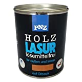 PNZ-Holz Lasur lösemittelfrei (0,75 L, Nr. 20 buche)
