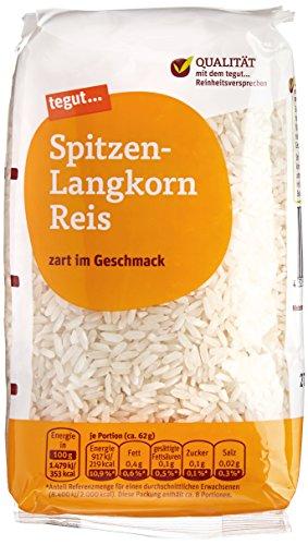 tegut... Spitzen-Langkorn Reis, 500 g