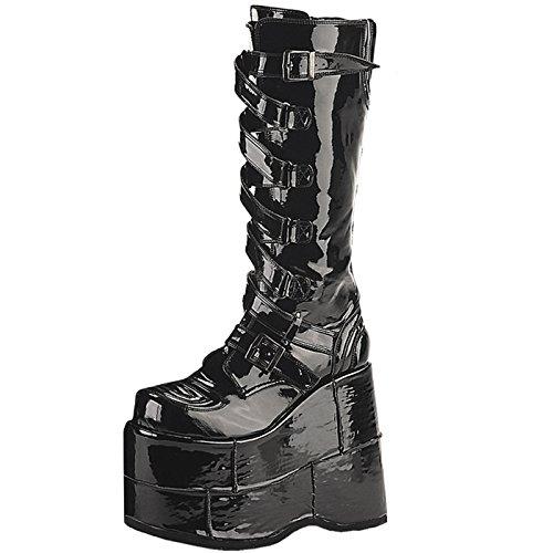 Demonia - Defining Alternative Footware, Stivali donna, nero (nero), 36