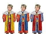 Atosa-32130 Atosa-32130-Disfraz Rey Mago niño bebé-Talla Color Surtido-Navidad,, 12 a 24 Meses (32130)