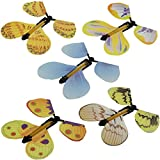 TjcmSs 5/Pcs verwandeln Flyer Fluttering Flying Magic Schmetterling Trick Prop für Kinder