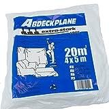 ROTIX 61103 Abdeckplane 4x5m | extra stark 50 my LDPE | Allzweck-Plane | für innen und außen