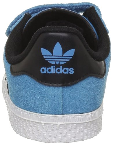 adidas, Sneaker bambini Grigio grigio blu (Bleu (Turquoise/Black 1))
