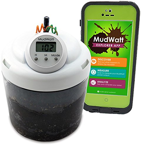 Handy Kinder Für Freigeschaltet (MudWatt, Saubere Energie aus Erde, eine eigene lebende Brennstoffzelle bauen)