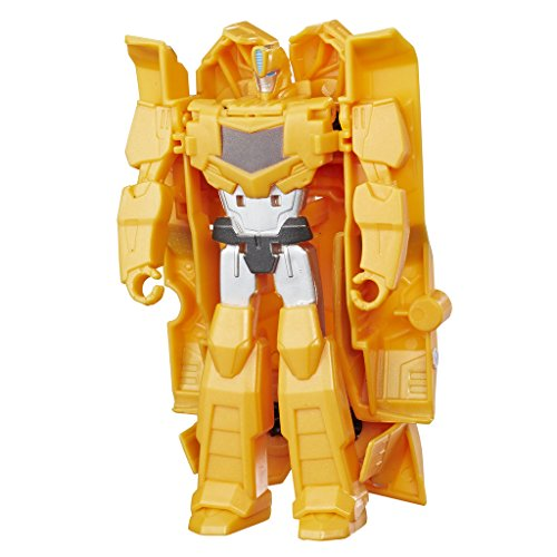 C0646ES0 - Robots In Disguise 1-Step Changers Bumblebee, Actionfigur (Transformers 4-autos)