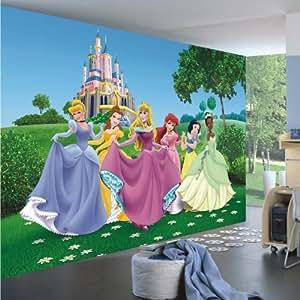 Posters: Walt Disney Papier Peint Photo/Poster - Princesses, 4 Parties (360 x 270 cm)