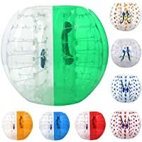 Inflatable Bumper Bubble Soccer Balls Dia 4FT (1.2m)/5 FT(1.5 m) Human Knocker Body Zorb Ball Bubble Football For Kids and Adults