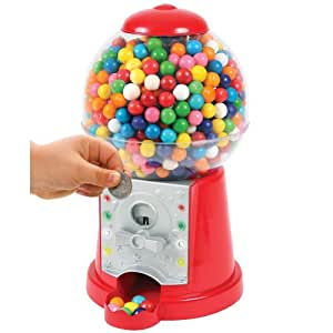 Electronic Gumball Machine. Lights Up And Plays Music.
