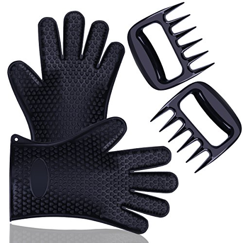 blumads Silikon Grill Pulled Pork Krallen Handschuhe mit -