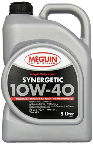 MEGUIN 6333 Megol Motorenöl Synergetic 10W-40, 5 L