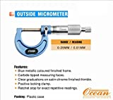 OCEAN OUTSIDE MICROMETER 0-25MM