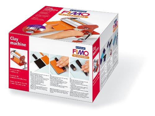 Staedtler machine à laminer FIMO, pour la pâte modeler FIMO non durcie, largeur de laminage 175 mm, 9 épaisseurs entre environ 0,35 et 3 mm, 8713