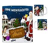 trendaffe - Aken (Elbe) Weihnachtsmann Kaffeebecher