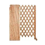 Pannello Estensibile in Legno da giardino balcone a rete mis. aperto 120x150 cm EV