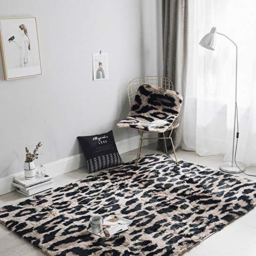 Benfa area rug high-end leopard long mink velluto divano del salotto tavolino comodino (150cm * 190cm, 5 '* 6'),b