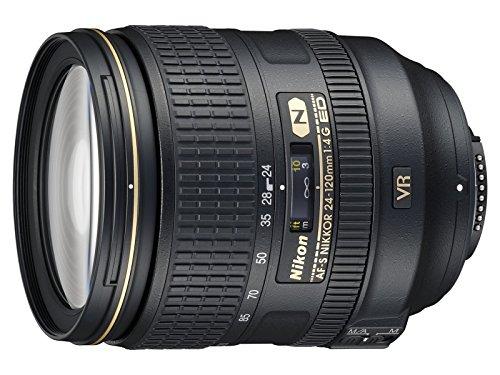 Nikon AF-S NIKKOR 24-120mm f/4G Ed VR Lens (Reconditionné Certifié)
