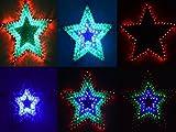 SSITG 120er LED Lichterkette Deko Fenster Balkon Weihnachten Weihnachtslichter STERN (Lieferzeit ist 3-7 Tagen)