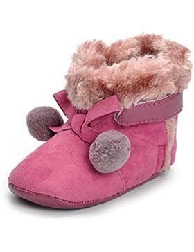 LCLrute Qualität Nette Neugeborene Baby Bowknot Ball Krippe Stiefel Soft Sohle Prewalker Warm Schuhe