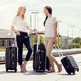 Acheter TecTake Set de 4 valises de Voyage... en ligne