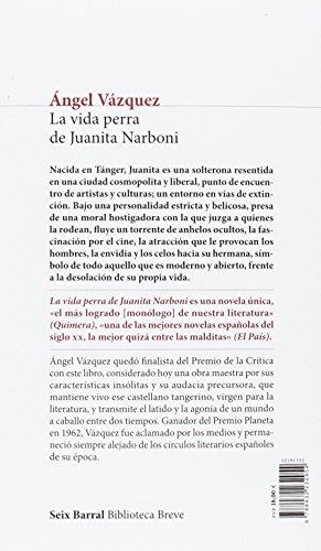 Resumen del libro de Ángel Vázquez LA VIDA PERRA DE JUANITA NARBONI