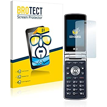 2x BROTECT Film Protection LG Wine Smart H410 Protection Ecran - Transparent, Anti-Trace
