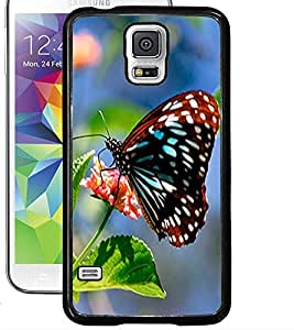 ColourCraft Butterfly Design Back Case Cover for SAMSUNG GALAXY S5 NEO