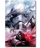 Star Wars 7 La Force Réveille Art Affiche Imprimer Nouveau Film Photos pour La Décoration Murale Kylo Ren 40 * 60 Cm sans Cadre