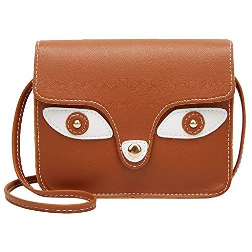 Kobay 2019 Cute Lady Shoulders Kleiner Rucksack Brief Geldbörse Handy Messenger Bag -