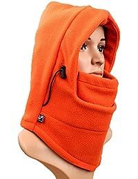 Calentador de cuello, gorro de esquí, doble capa, térmico, cálido, forro